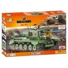Word Of Tanks A34 Комета, 530 деталей