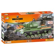 COBI Word Of Tanks ИС-2, 560 деталей