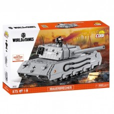 World Of Tanks Mauerbrecher, 875 деталей